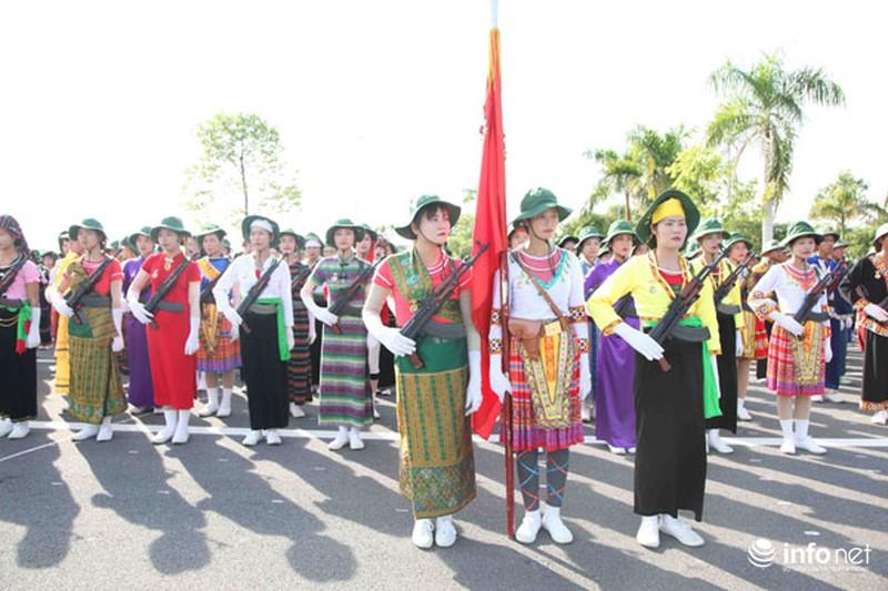 Các khối luyện tập chuẩn bị lễ Diễu binh ngày Quốc khánh 2/9 - ảnh 16