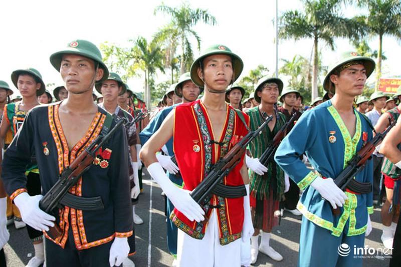 Các khối luyện tập chuẩn bị lễ Diễu binh ngày Quốc khánh 2/9 - ảnh 17