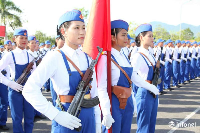 Các khối luyện tập chuẩn bị lễ Diễu binh ngày Quốc khánh 2/9 - ảnh 19