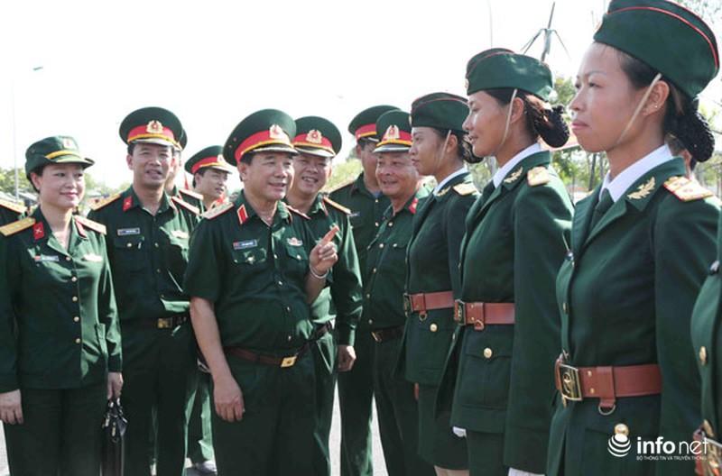 Các khối luyện tập chuẩn bị lễ Diễu binh ngày Quốc khánh 2/9 - ảnh 2