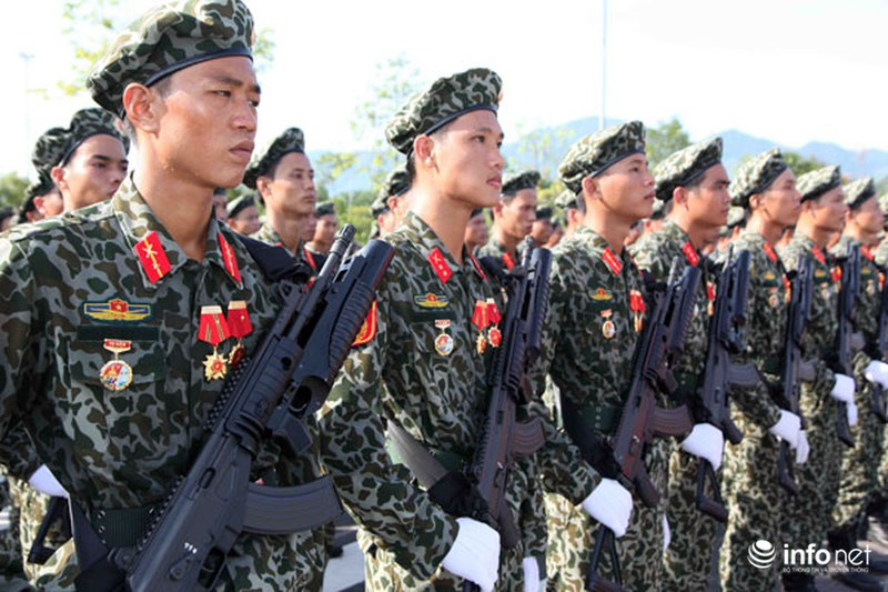 Các khối luyện tập chuẩn bị lễ Diễu binh ngày Quốc khánh 2/9 - ảnh 21