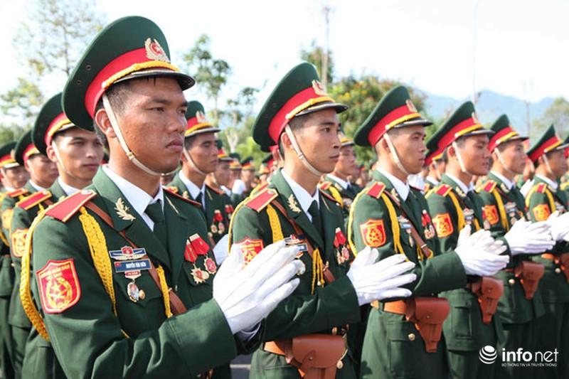 Các khối luyện tập chuẩn bị lễ Diễu binh ngày Quốc khánh 2/9 - ảnh 24