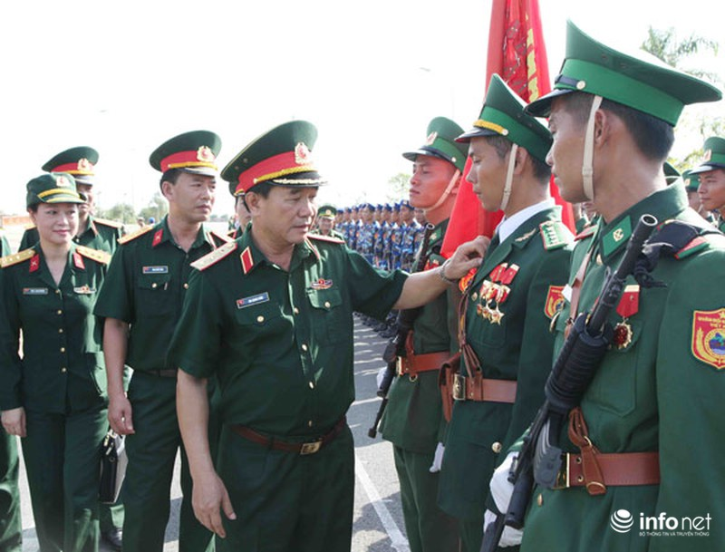 Các khối luyện tập chuẩn bị lễ Diễu binh ngày Quốc khánh 2/9 - ảnh 3