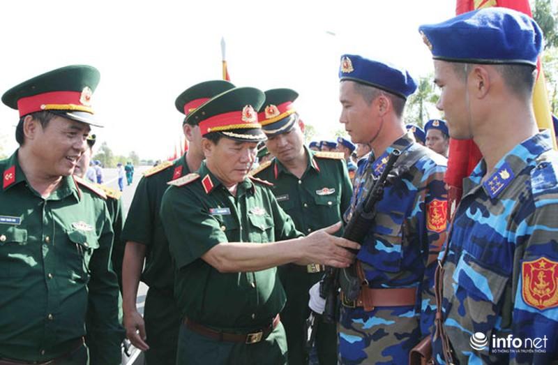 Các khối luyện tập chuẩn bị lễ Diễu binh ngày Quốc khánh 2/9 - ảnh 4