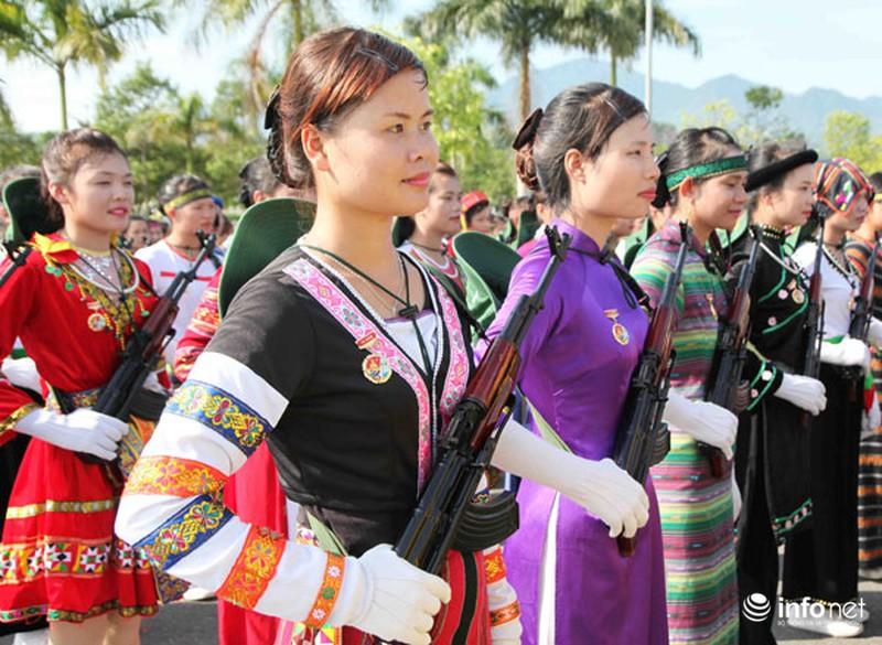 Các khối luyện tập chuẩn bị lễ Diễu binh ngày Quốc khánh 2/9 - ảnh 7