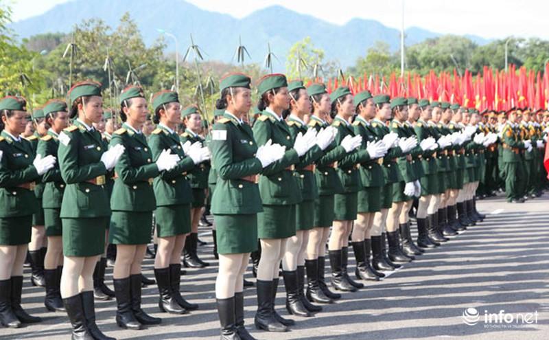 Các khối luyện tập chuẩn bị lễ Diễu binh ngày Quốc khánh 2/9 - ảnh 9