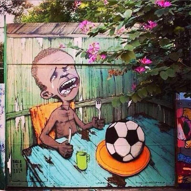 Một Brazil giận dữ và đáng buồn bên lề World Cup 2014 - ảnh 2