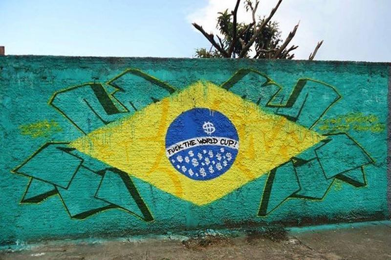 Một Brazil giận dữ và đáng buồn bên lề World Cup 2014 - ảnh 6