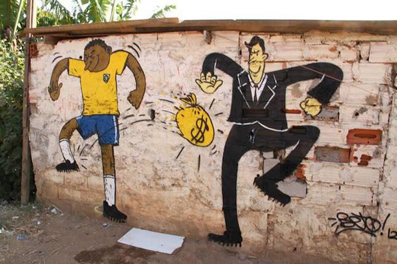 Một Brazil giận dữ và đáng buồn bên lề World Cup 2014 - ảnh 8