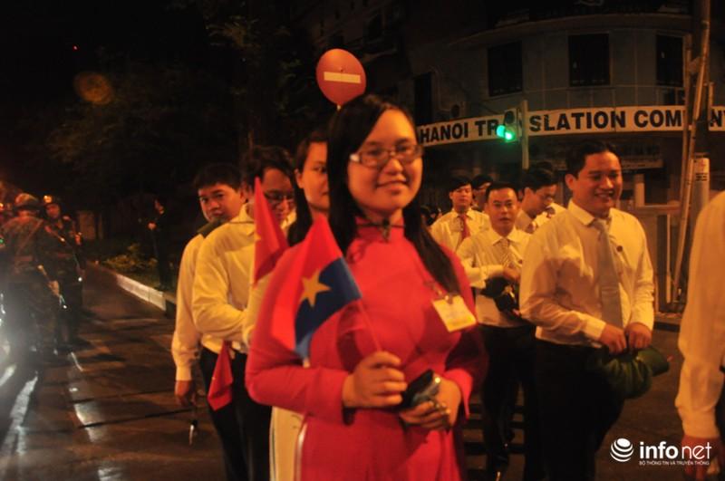 Hình ảnh trước lễ Diễu binh chào mừng 40 năm giải phóng miền Nam - ảnh 3