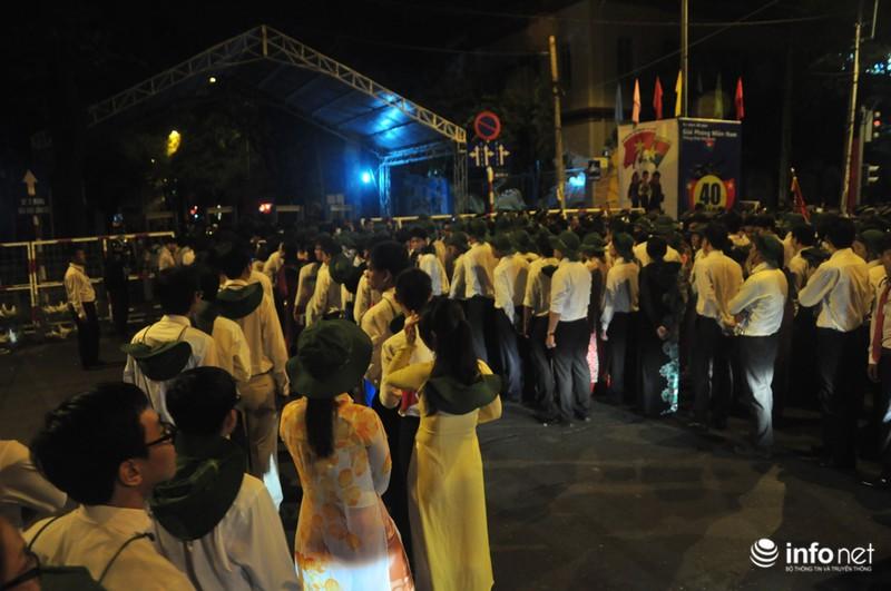 Hình ảnh trước lễ Diễu binh chào mừng 40 năm giải phóng miền Nam - ảnh 5