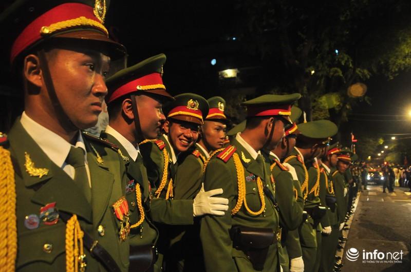 Hình ảnh trước lễ Diễu binh chào mừng 40 năm giải phóng miền Nam - ảnh 6