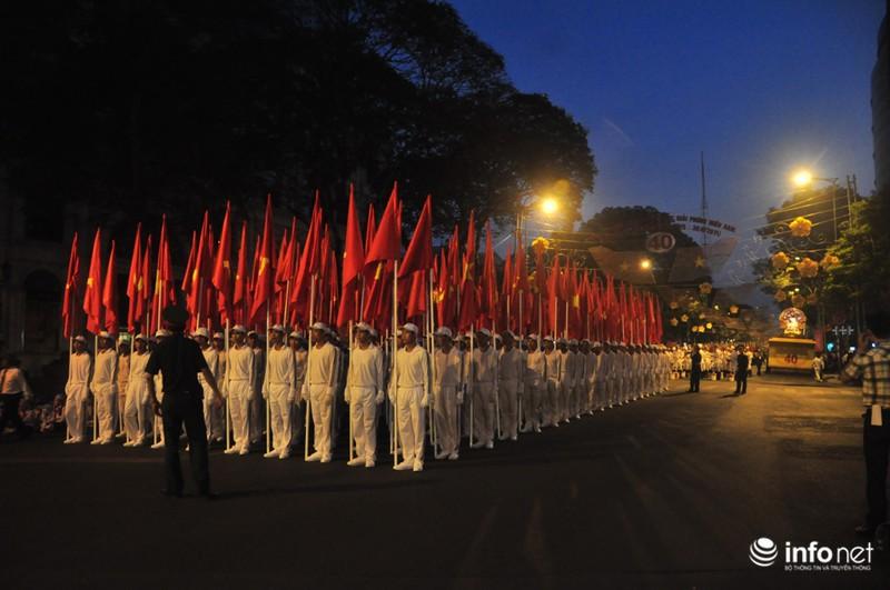 Hình ảnh trước lễ Diễu binh chào mừng 40 năm giải phóng miền Nam - ảnh 9