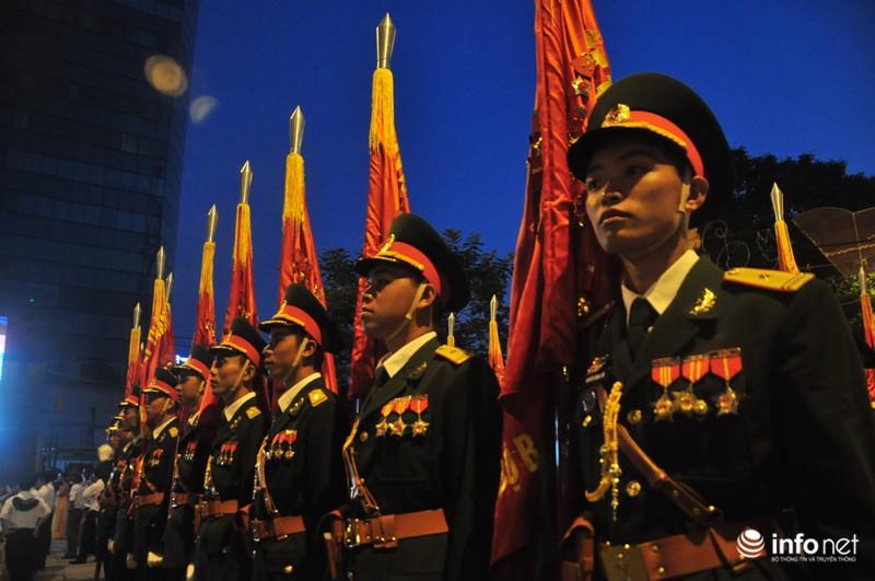 Hình ảnh trước lễ Diễu binh chào mừng 40 năm giải phóng miền Nam - ảnh 12