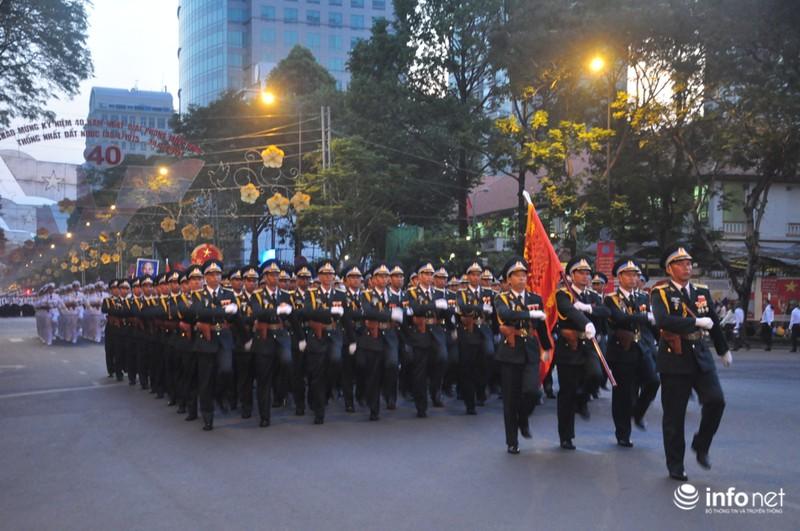 Hình ảnh trước lễ Diễu binh chào mừng 40 năm giải phóng miền Nam - ảnh 15