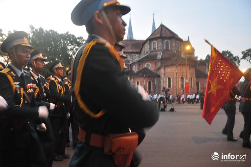 Hình ảnh trước lễ Diễu binh chào mừng 40 năm giải phóng miền Nam - ảnh 17