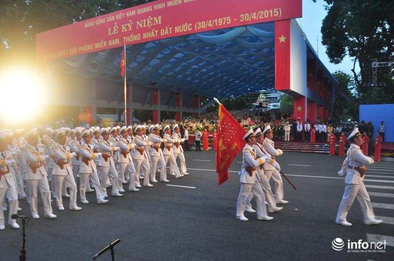 Hình ảnh trước lễ Diễu binh chào mừng 40 năm giải phóng miền Nam - ảnh 23