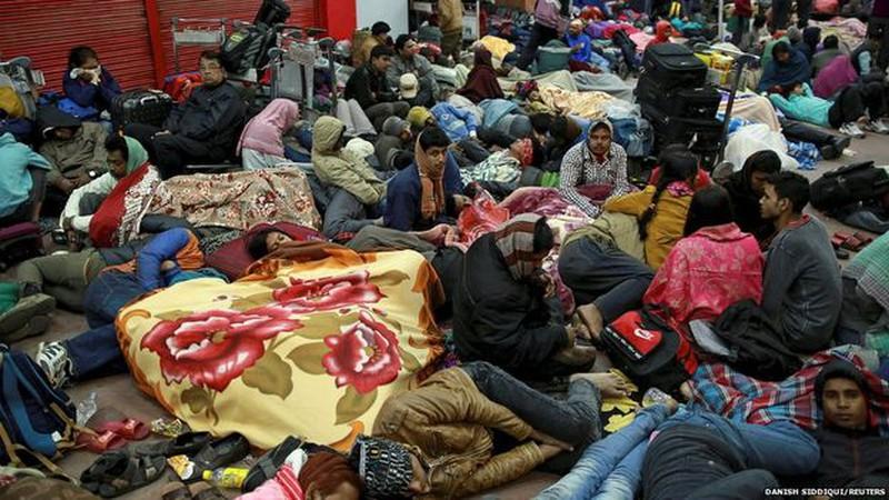 Rớt nước mắt với những hình ảnh Nepal tang thương sau động đất - ảnh 5