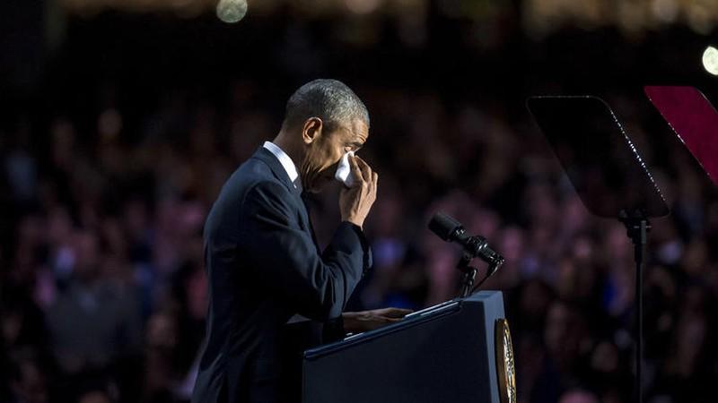 Ảnh: Những khoảnh khắc xúc động khi ông Obama nói lời tạm biệt - ảnh 6