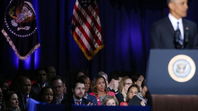 Ảnh: Những khoảnh khắc xúc động khi ông Obama nói lời tạm biệt - ảnh 8