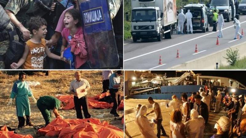 Xót xa với thảm cảnh của người tị nạn ở châu Âu - ảnh 1