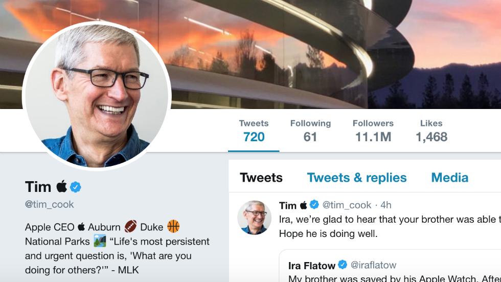 """Màn đổi avatar """"kém duyên"""" nhất ngày: CEO Apple khoe AirPods Pro mới, hoá ra chỉ là Photoshop? - Ảnh 2."""