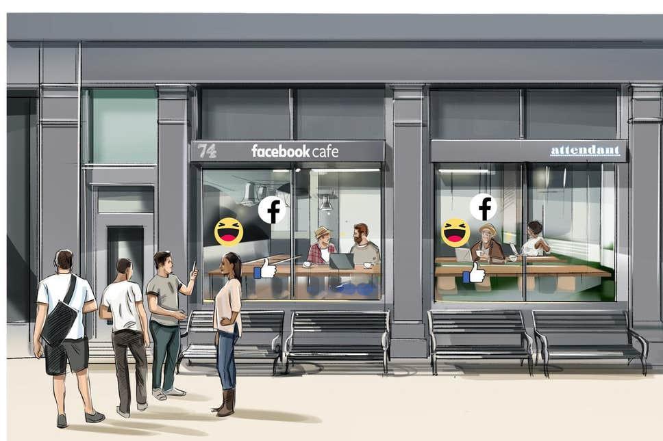 Chuyện thật như đùa: Facebook sắp tự mở quán cafe, miễn phí luôn nếu làm một việc nhỏ như con thỏ - Ảnh 1.