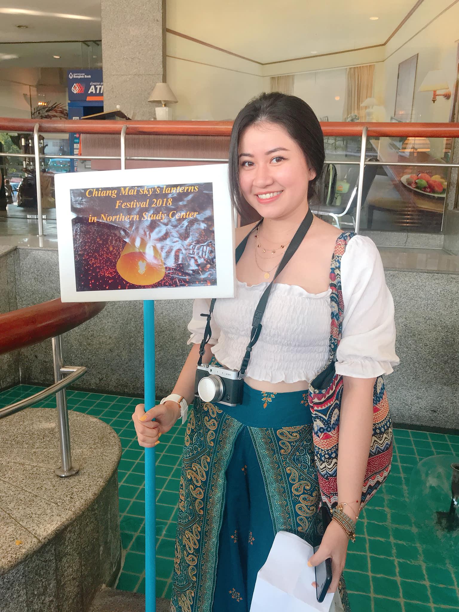 Gái xinh Việt làm tiếp viên hàng không tại Đài Loan, từng trượt phỏng vấn chỉ vì câu hỏi: Bạn thích màu gì nhất? - Ảnh 3.