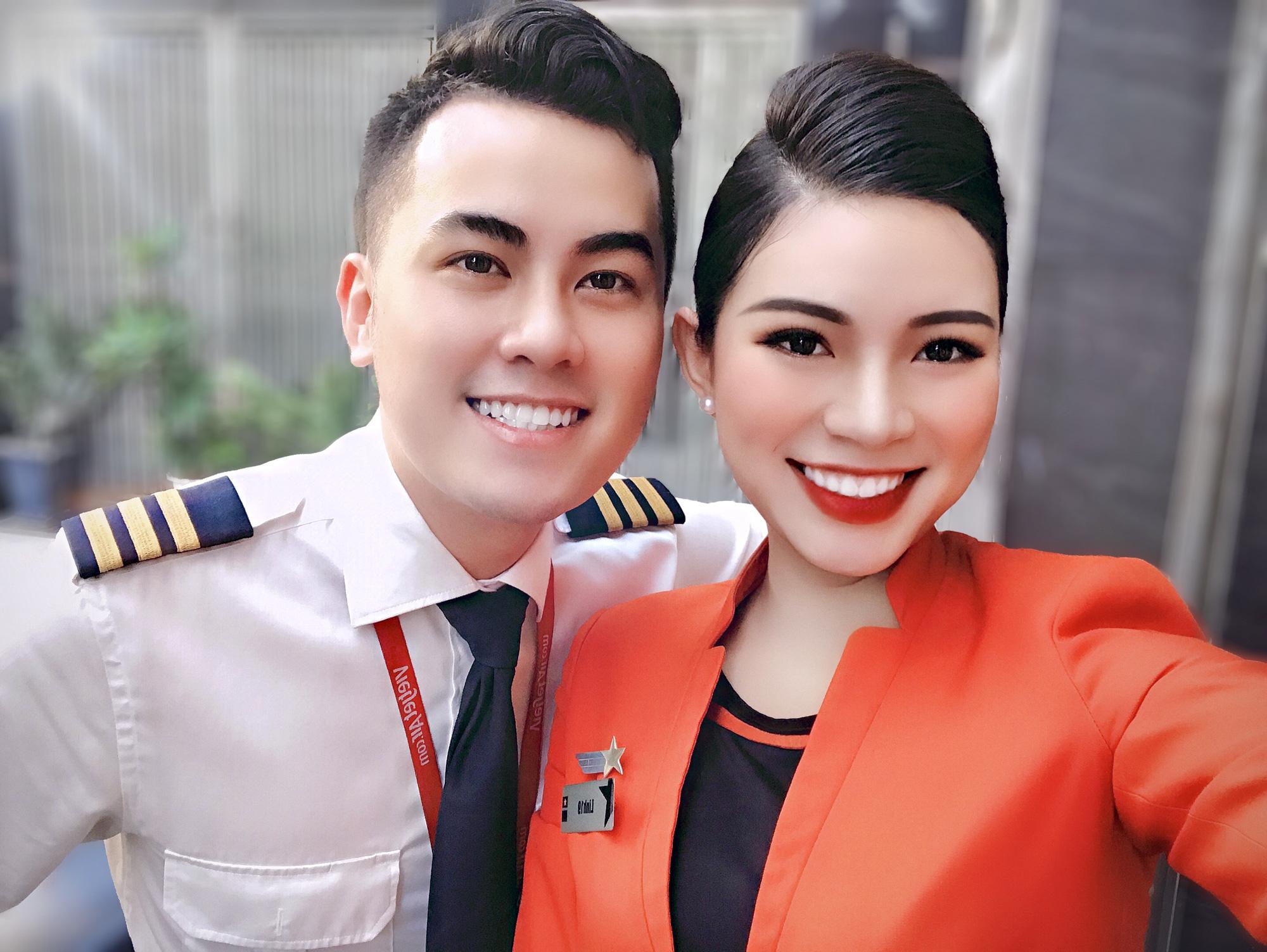 Tiếp viên hàng không kể chuyện yêu anh cơ phó nhờ Facebook, hé lộ mức lương xứng đáng với công việc trong mơ - Ảnh 9.