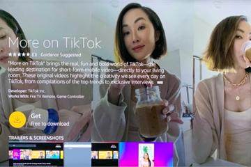 """Bất chấp lệnh cấm, TikTok bất ngờ đem ứng dụng lên TV với tên gọi """"More on TikTok"""""""