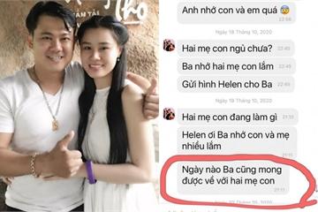 Hé lộ tin nhắn Vân Quang Long liên tục gửi vợ, mong được về Việt Nam trước khi qua đời
