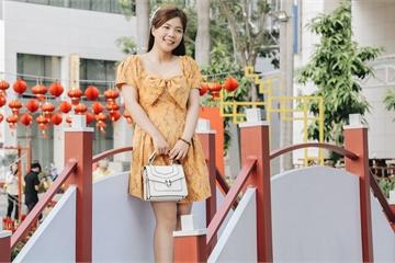 Cận cảnh đường hoa Tết Tân Sửu 2021 phong cách tối giản tại phố nhà giàu Sài Gòn