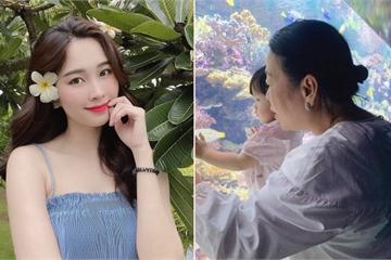 """Hiếm lắm mẹ chồng Hoa hậu Đặng Thu Thảo mới lộ diện, bà chủ """"nghìn tỷ"""" trông thật gần gũi"""