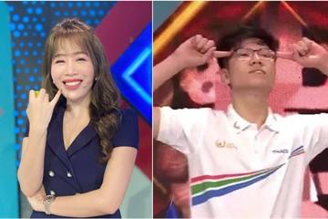 """MC Diệp Chi bênh vực thí sinh Olympia gây tranh cãi vì thái độ: Tính bạn ấy vốn """"tưng tưng"""" vậy đó!"""