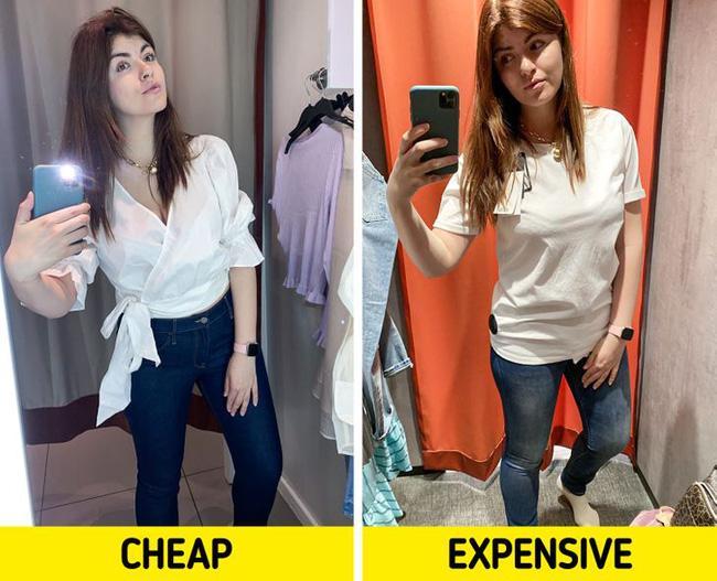 BTV thời trang chuột bạch áo quần đắt tiền và rẻ tiền, kết quả rút ra khiến chị em phải nghĩ lại câu của rẻ là của ôi! - Ảnh 1.