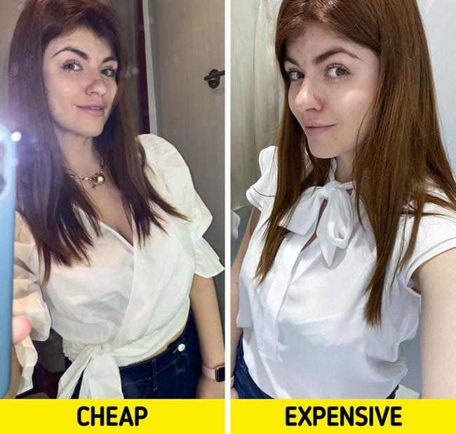 BTV thời trang chuột bạch áo quần đắt tiền và rẻ tiền, kết quả rút ra khiến chị em phải nghĩ lại câu của rẻ là của ôi! - Ảnh 3.