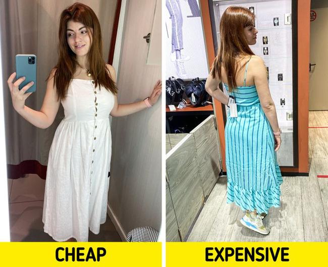 BTV thời trang chuột bạch áo quần đắt tiền và rẻ tiền, kết quả rút ra khiến chị em phải nghĩ lại câu của rẻ là của ôi! - Ảnh 6.