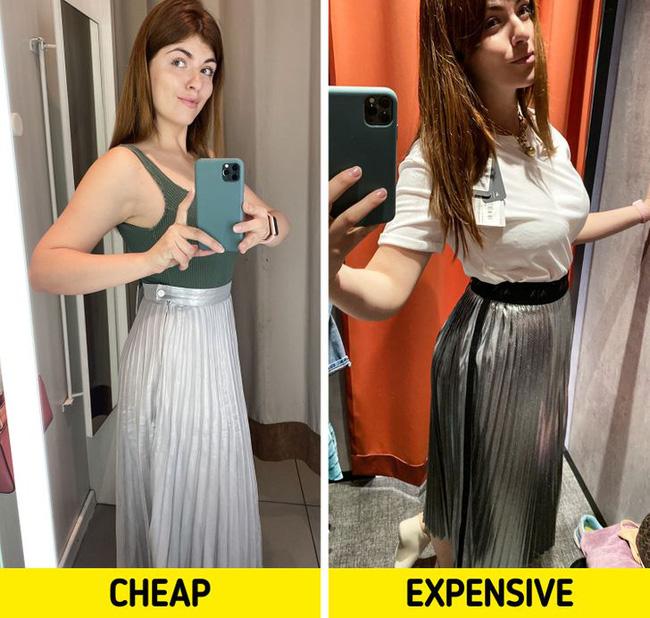 BTV thời trang chuột bạch áo quần đắt tiền và rẻ tiền, kết quả rút ra khiến chị em phải nghĩ lại câu của rẻ là của ôi! - Ảnh 9.