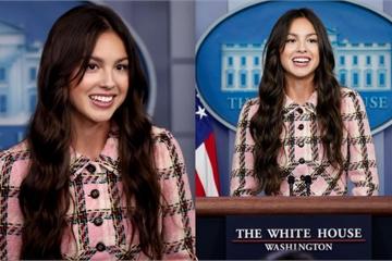 Mỹ nhân Gen Z gây bão MXH với màn phát biểu ở Nhà Trắng vì... xinh quá trời ơi!