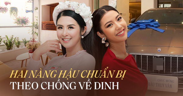 'So kè' nhà sang, xế xịn của HH Ngọc Hân và Á hậu Thúy Vân trước khi lấy chồng