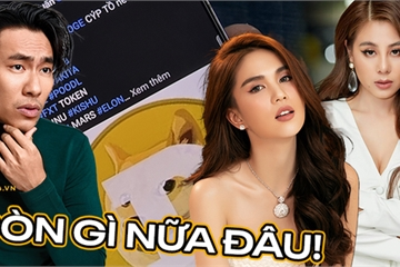 """""""Sập"""" sàn giao dịch, đồng tiền số được Ngọc Trinh và nhiều celeb Việt công khai PR giảm gần 100 lần giá trị, coi như bằng 0"""