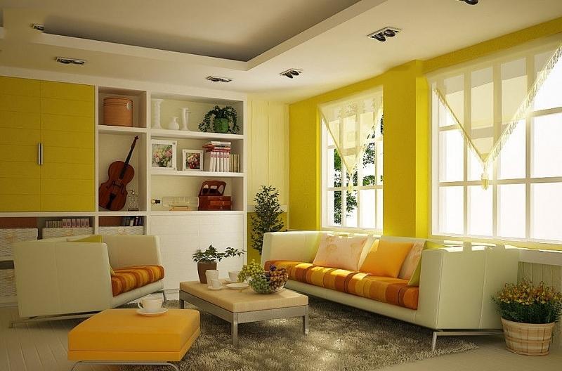 Cách trang trí phòng khách nhà cấp 4 ấn tượng