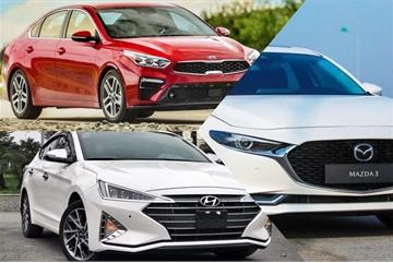 Sedan hạng C: Mazda 3, Kia Cerato hay Hyundai Elantra mất giá nhanh hơn?