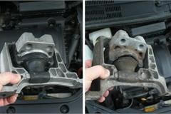 Cao su chân máy ô tô hư hỏng và dấu hiệu cần lưu ý