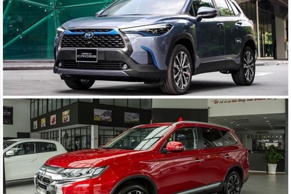 Có trong tay 1 tỉ đồng, chọn Mitsubishi Outlander hay Toyota Corolla Cross?