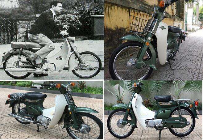 Hình ảnh xe máy Supper Cub 50: Ảnh đồ họa Thanh Sơn