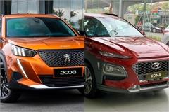 SUV đô thị cỡ nhỏ: Chọn Peugeot 2008 hay Hyundai Kona?
