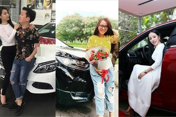 Soi xế hộp Nhã Phương, Hải Băng và loạt mỹ nhân Việt được chồng tặng