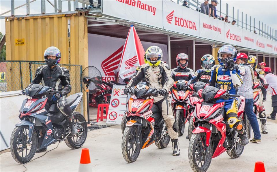 Giải đua xe VRRC tại Bình Dương sẽ có 3 hạng mục thi đấu. Ảnh minh hoạ: T.L