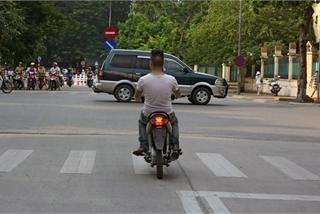 Không gắn biển số khi tham gia giao thông sẽ bị tạm giữ phương tiện